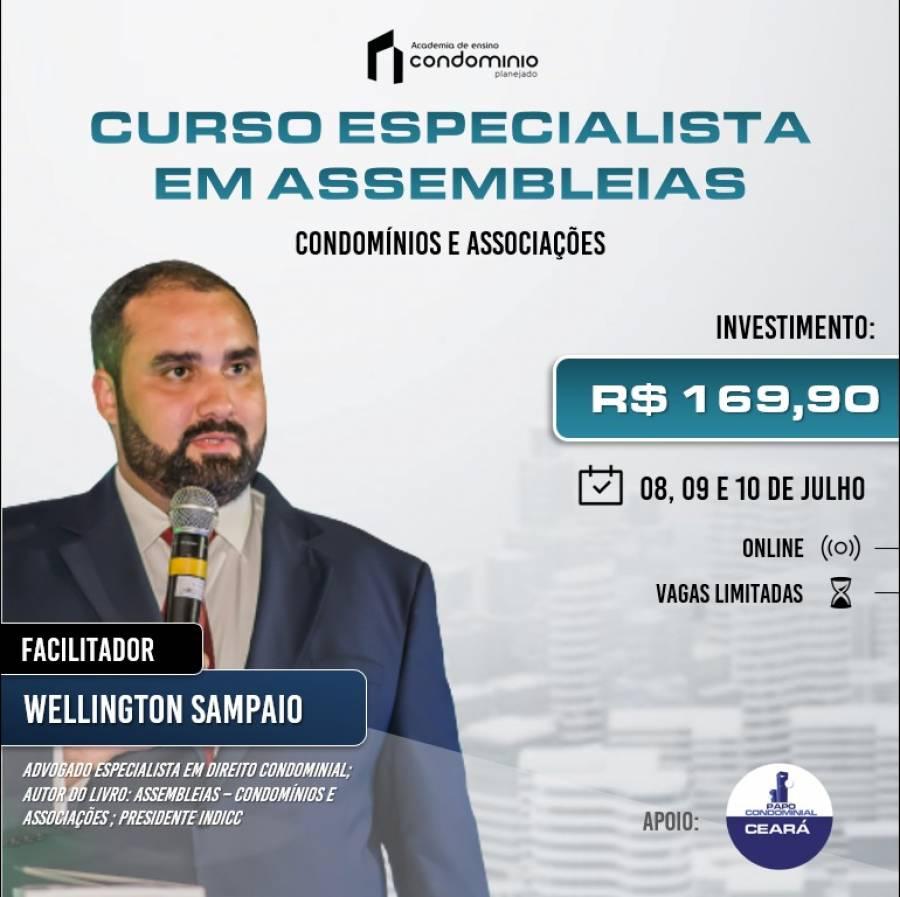 Curso especialista em assembleias - condomínios e associações.